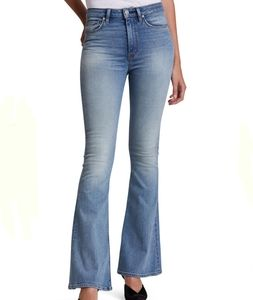 Hudson Jeans High Rise Vintage Holly Crop Flare